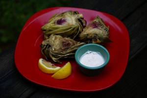 Our Steamed Artichokes
