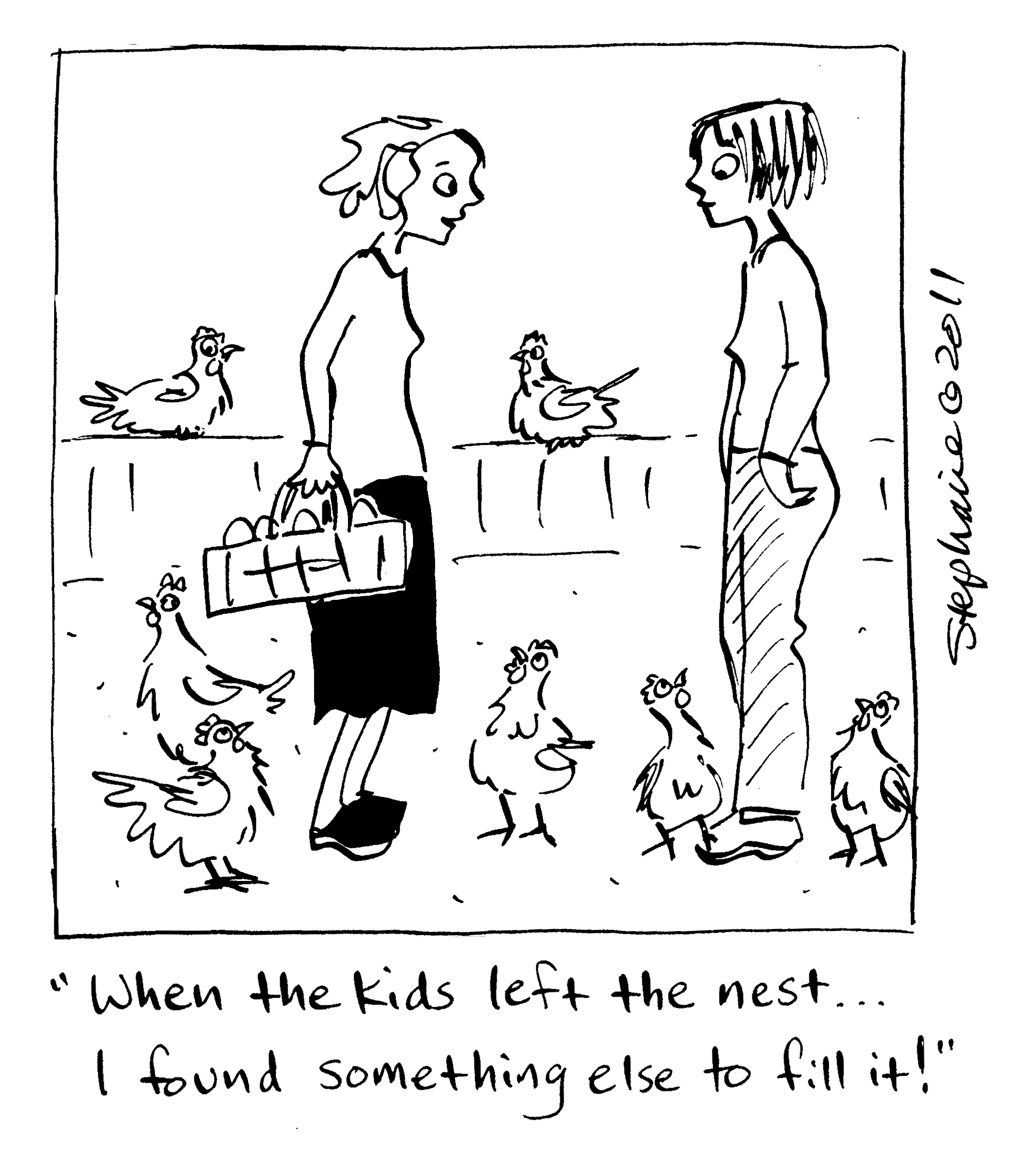 chicken cartoons | Lessons Learned from the Flock