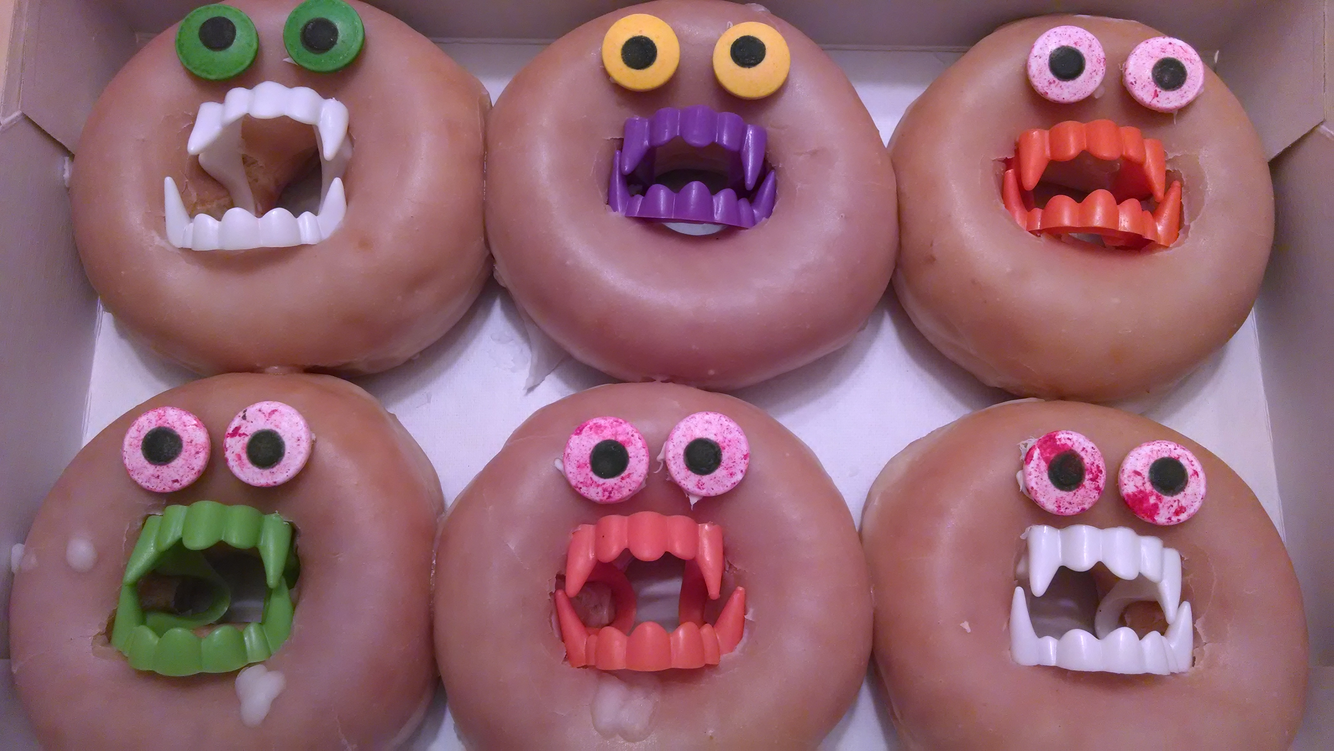 halloween doughnuts | Lessons Learned from the Flock