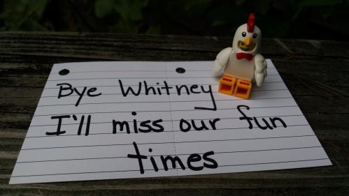 Leave Whitney alone!