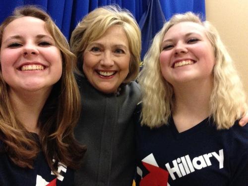 official hillary selfie