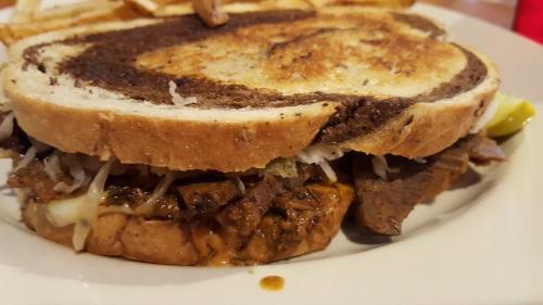 Wild Boar sandwich